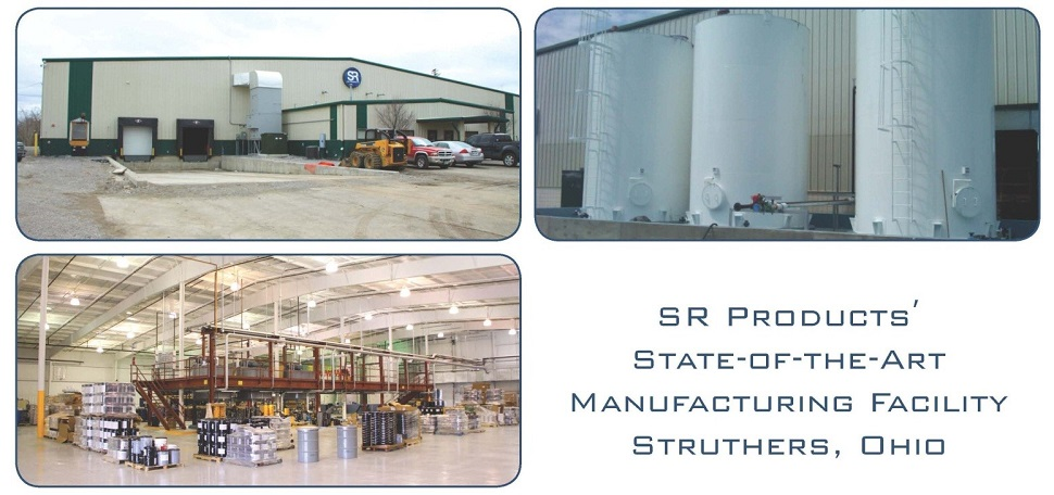SR Products' Manufacturing Plant